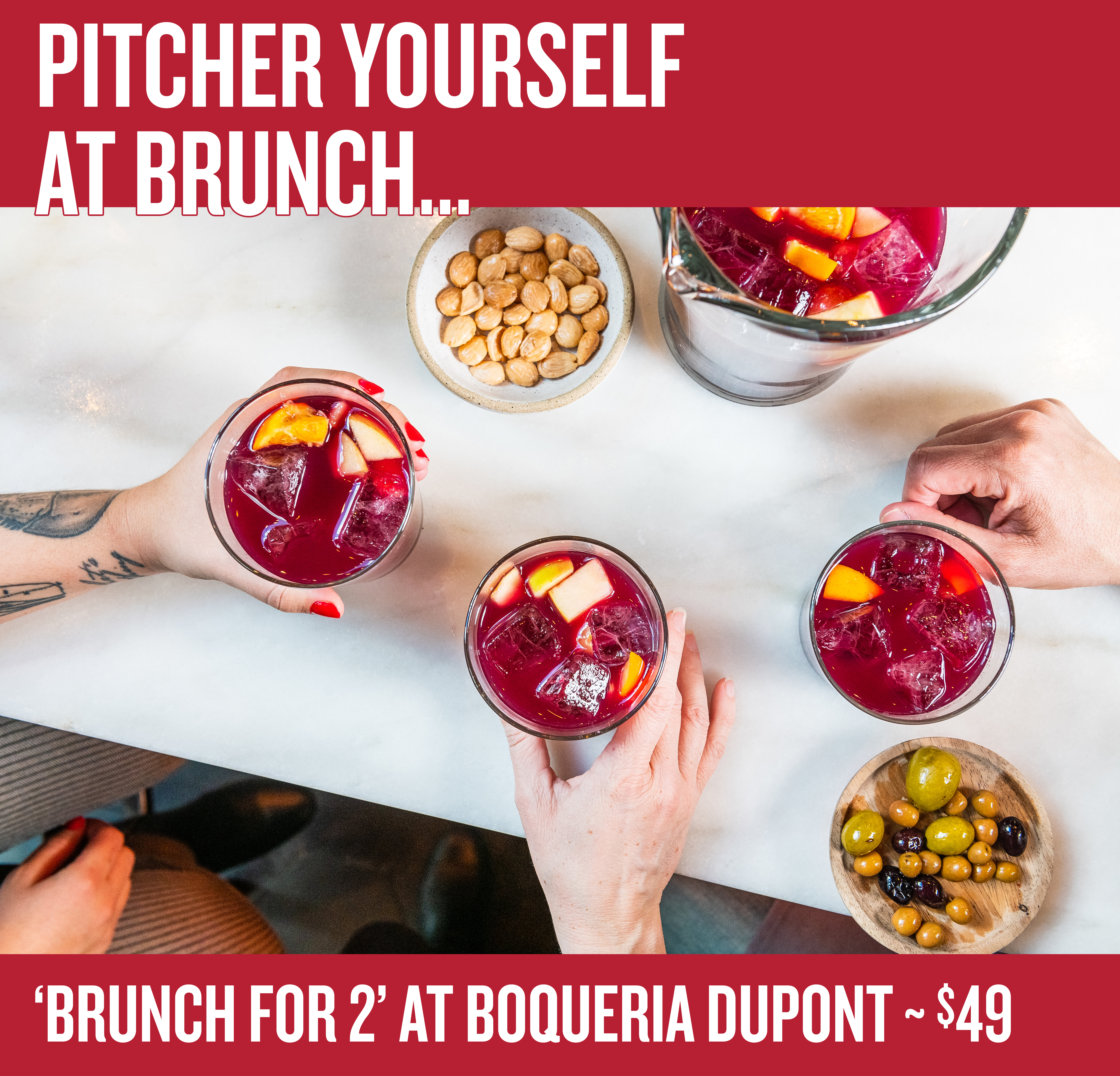 Brunch for 2 - $49